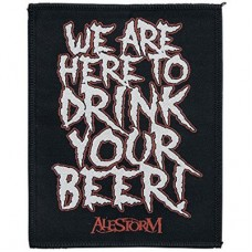 Alestorm - We Are Here To Drink Your Beer (Patch)