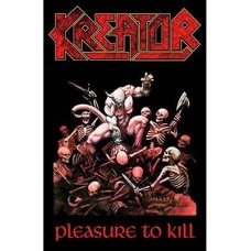 Kreator - Pleasure To Kill (Flag)